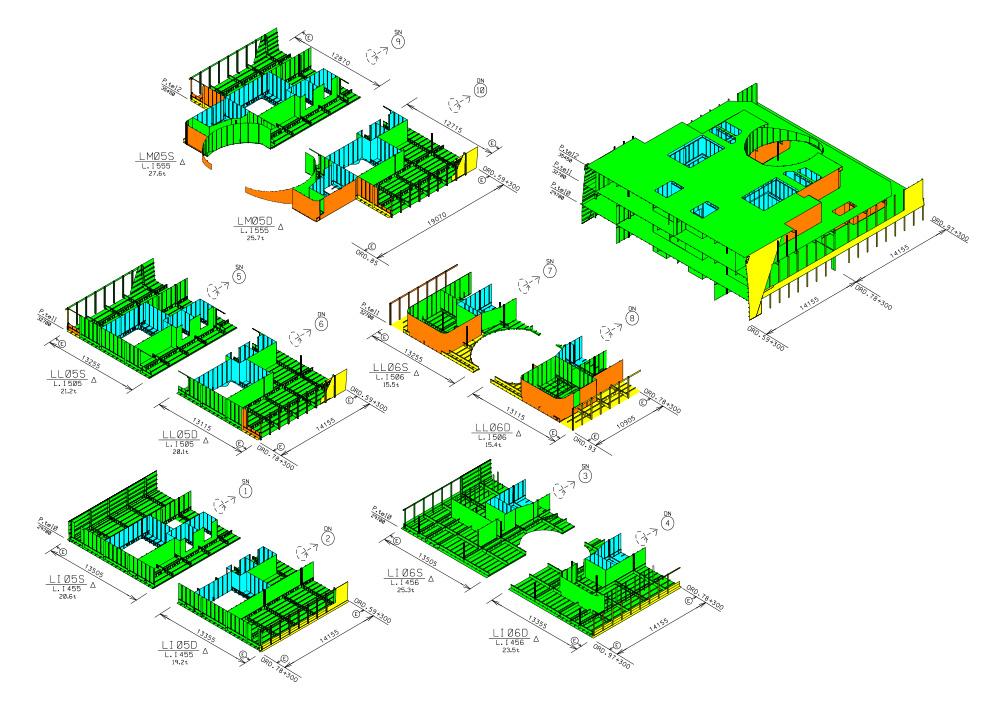 Disegni strutturali CAD/CAM